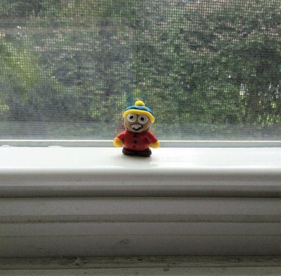 Christmas gift ideas, miniature cartman, south park, hand made gift