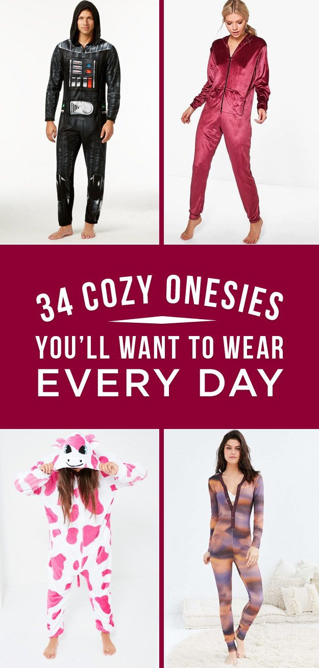 34 Cozy Onesies For The Laziest Person You Know | Onesies, Lazy ...