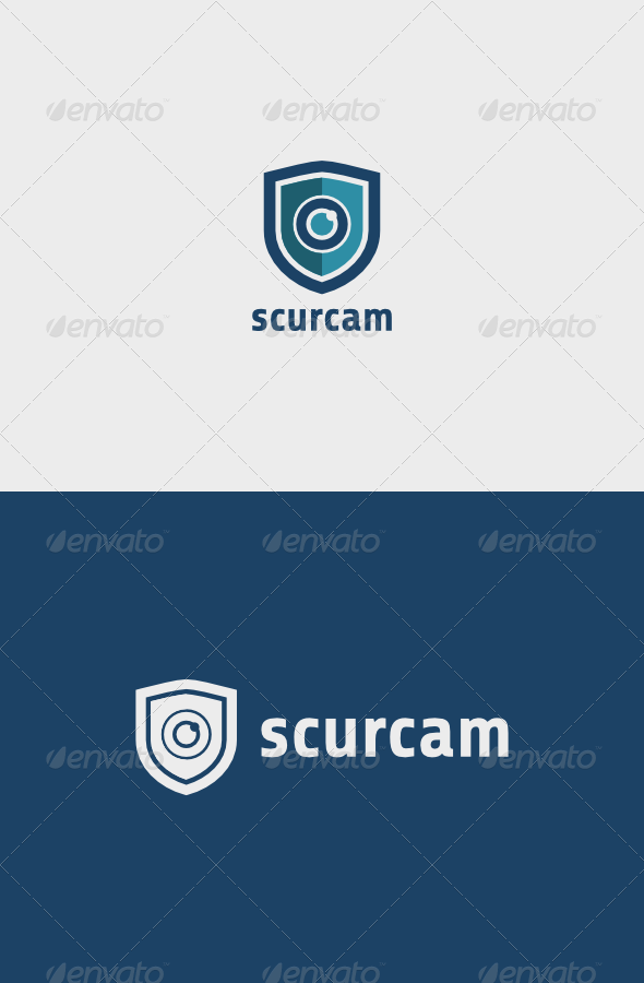Security Camera Logo   A simple and excellent logo template