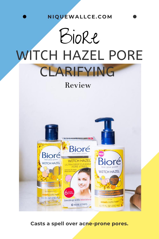 Biore Witch Hazel Pore Clarifying