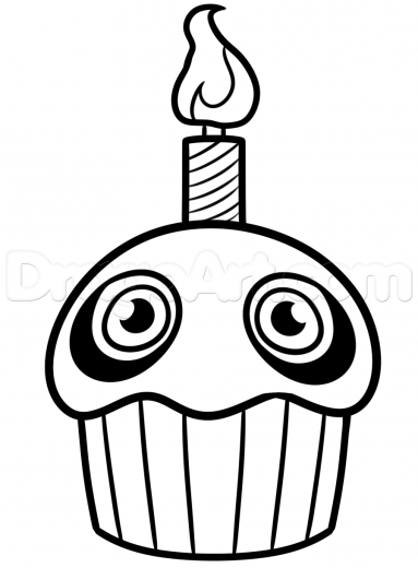 how-to-draw-the-five-nights-at-freddys-cupcake-step ...