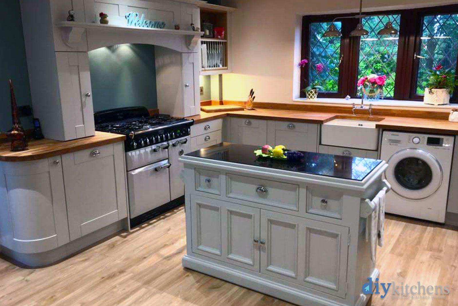 Best An Innova Linwood Dove Grey Shaker Kitchen Grey Shaker 400 x 300