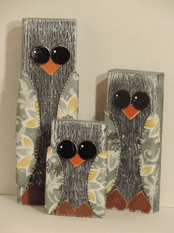 Hey, I found this really awesome Etsy listing at https://www.etsy.com/listing/206333713/the-wooden-owl-family