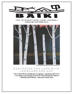 Baiki published twice per year, Issue 37