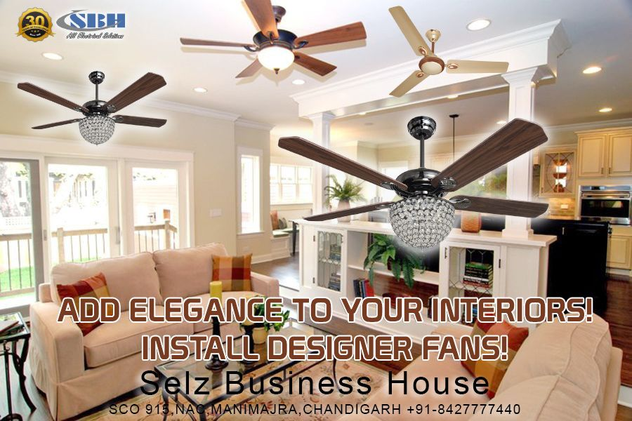 Add Elegance To Your Interiors With Designer Fans Designer Fans Design Interior