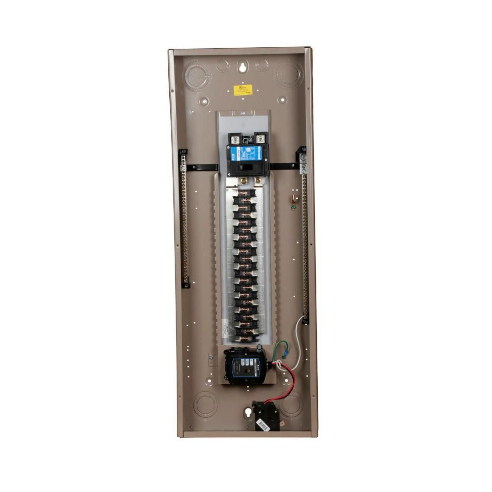 Eaton Ch 200 Amp 42 Circuit Indoor Main Breaker Loadcenter With Surge Protection Chsur42b200l2 Indoor Locker Storage Circuit