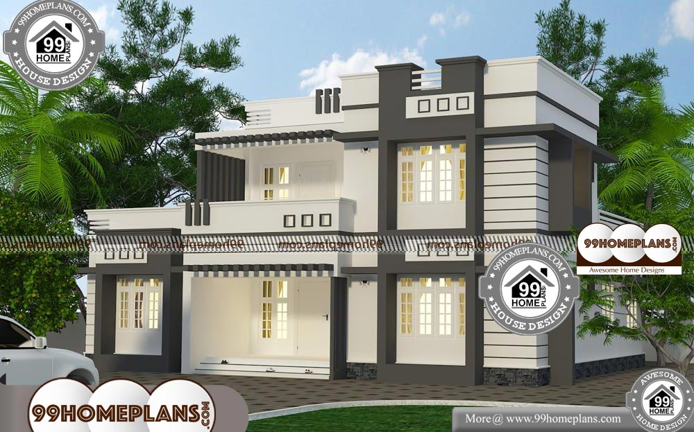 Modern Architecture Homes Floor Plans With Two Story Flat Roof Houses Modern Architecture House Modern Architecture House Floor Plans