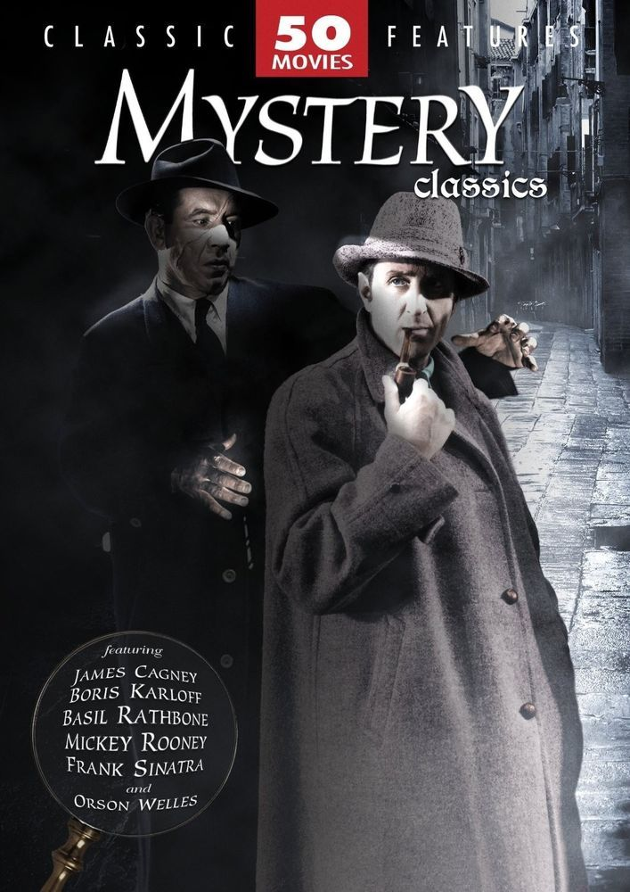 50 Best Mystery Writers: Details About Mystery Classics 50 Movies (Detective