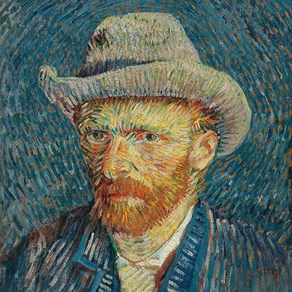 4 Decoupage Napkins Vincent Van Gogh Self Portrait Paper
