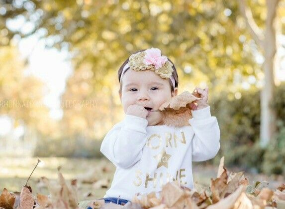 6 month photo shoot of my Averie(: