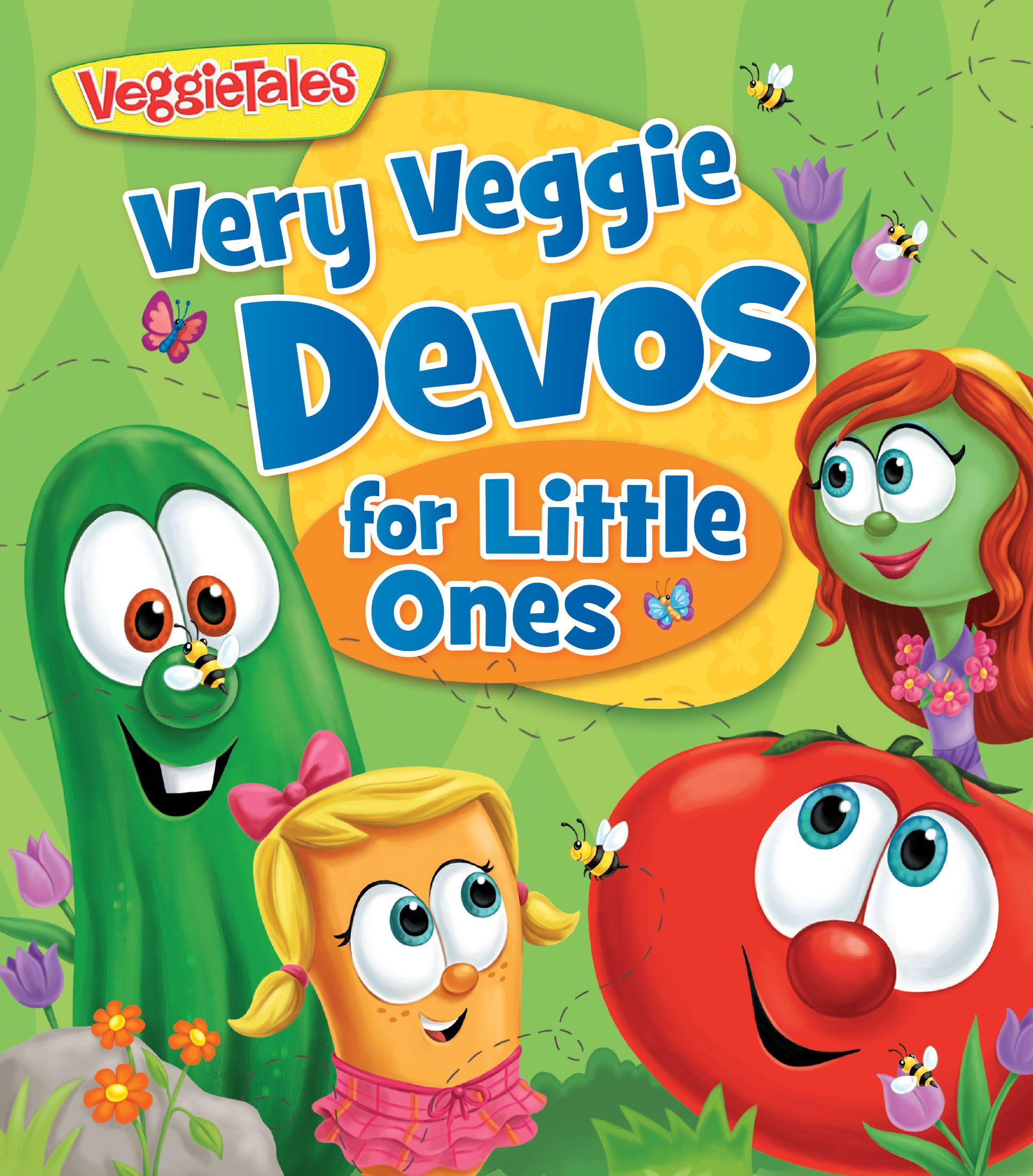 Very Veggie Devos for Little Ones Veggietales, Board Book, Books Online,  Joyful,