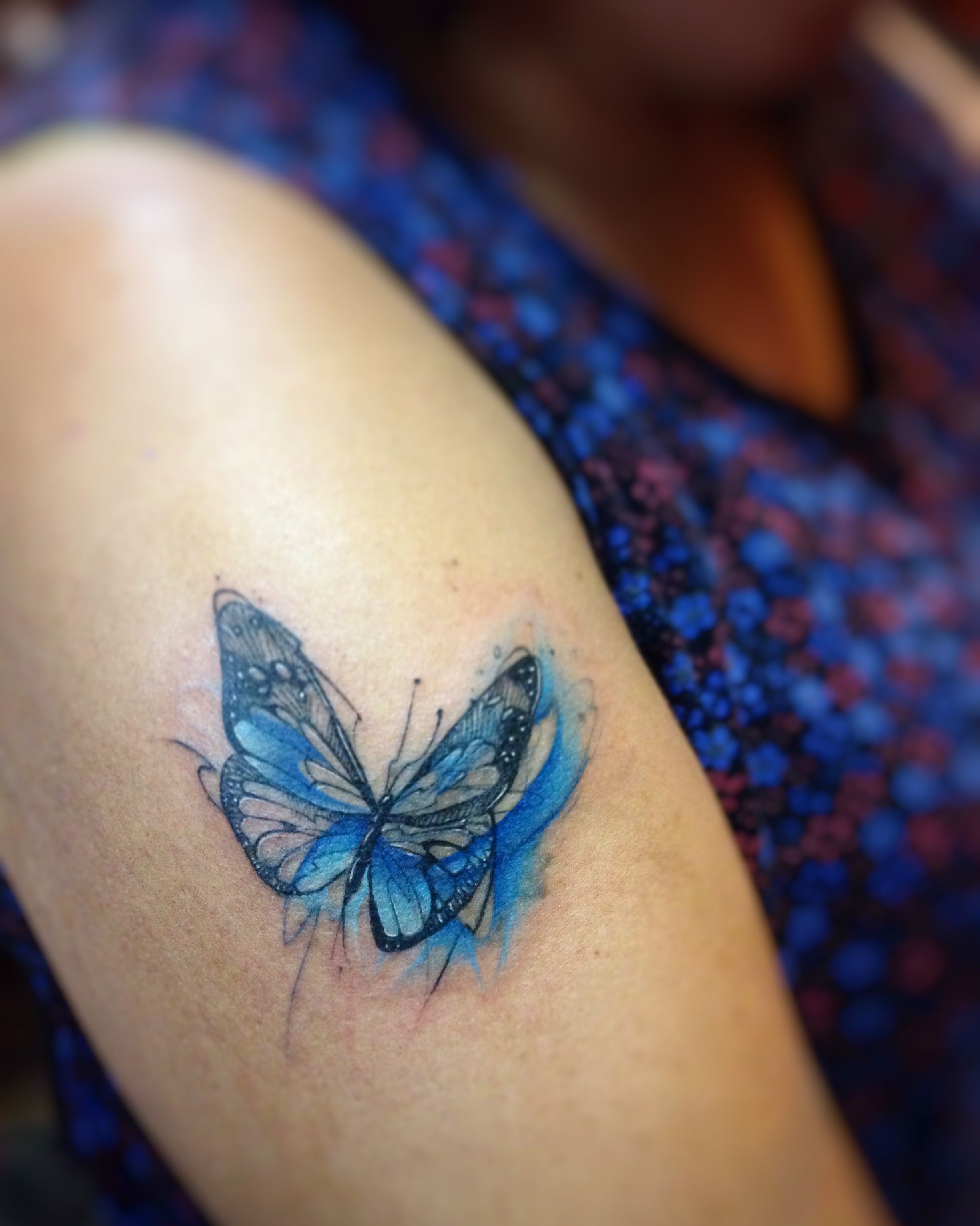 Butterfly Watercolor Tattoo Tattoos Watercolor Tattoo Ink Tattoo
