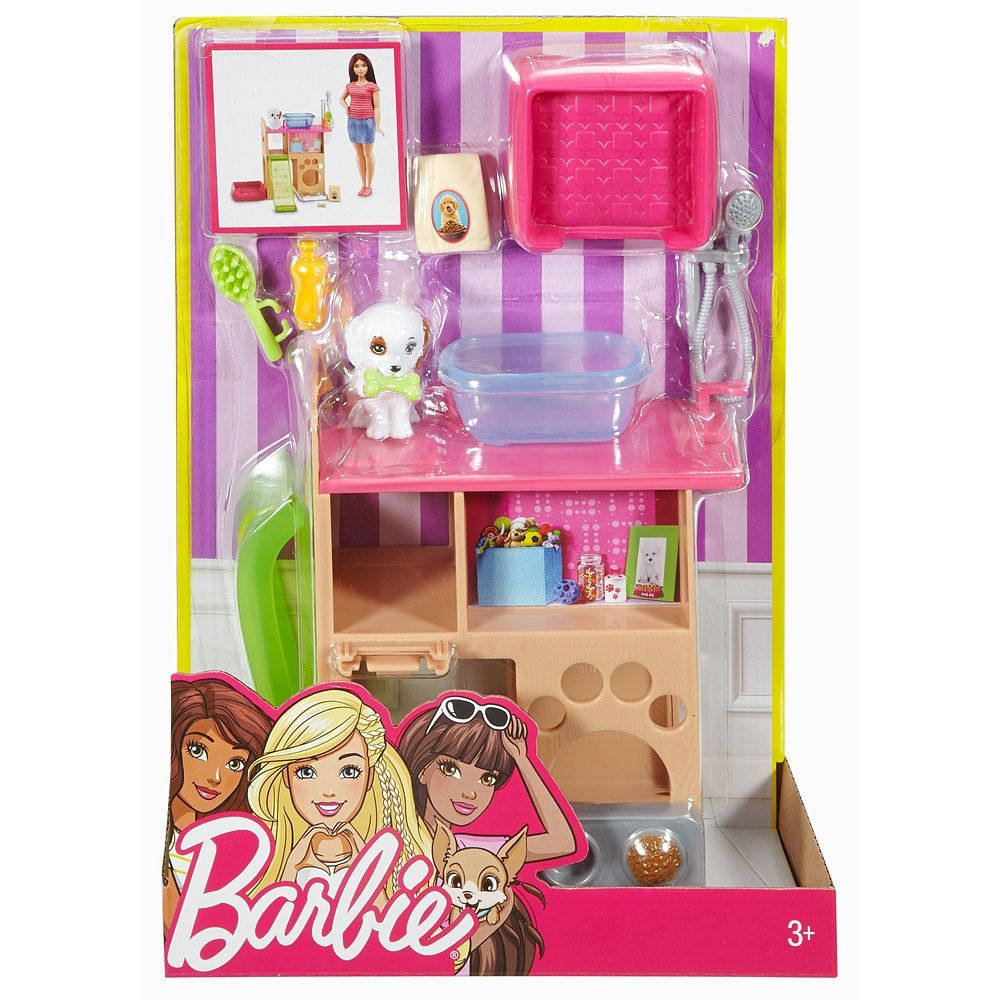 Enjoy Indoor Fun With The Barbie Collection Of Furniture Plus Pet