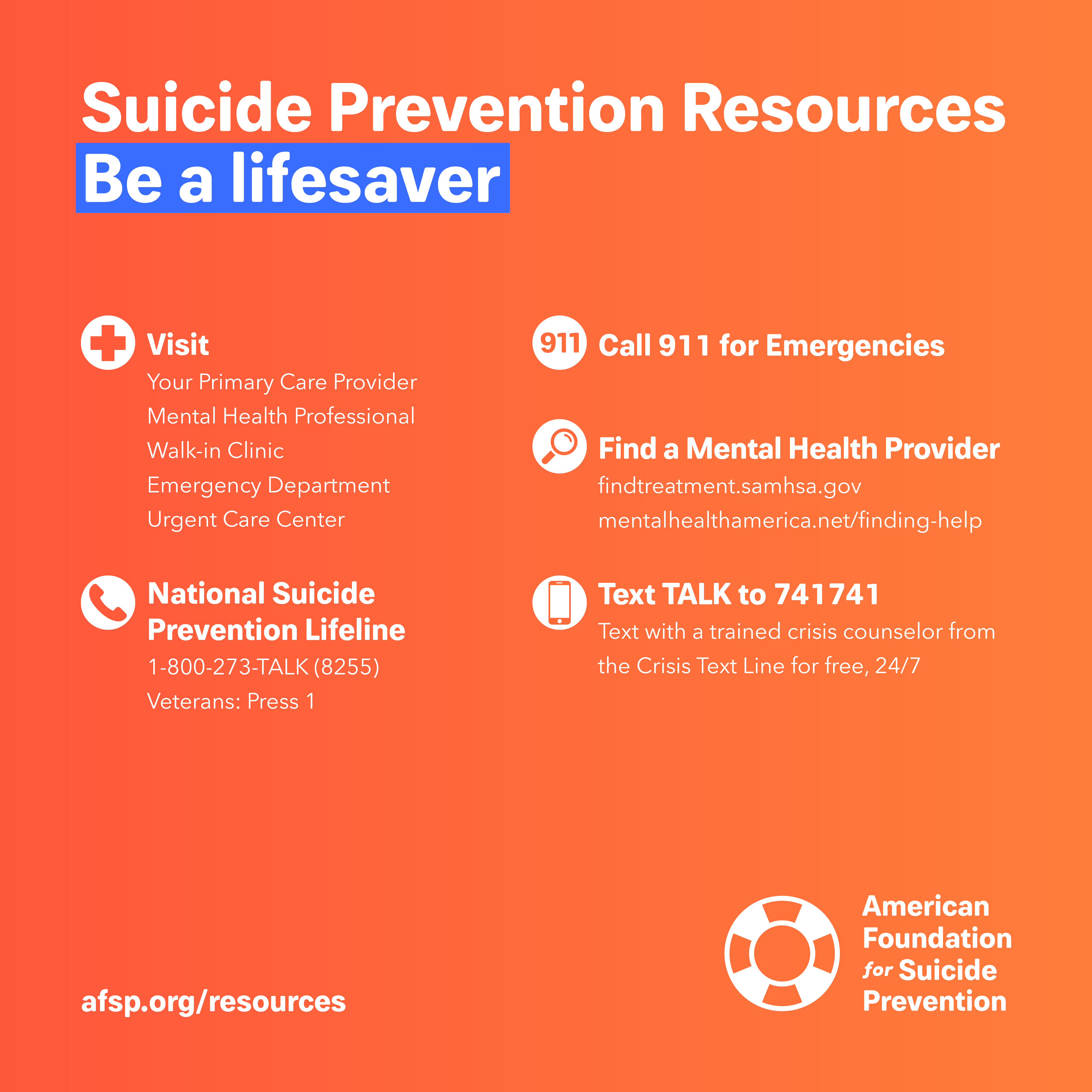 Suicide Prevention Resources Suicide Prevention Pinterest