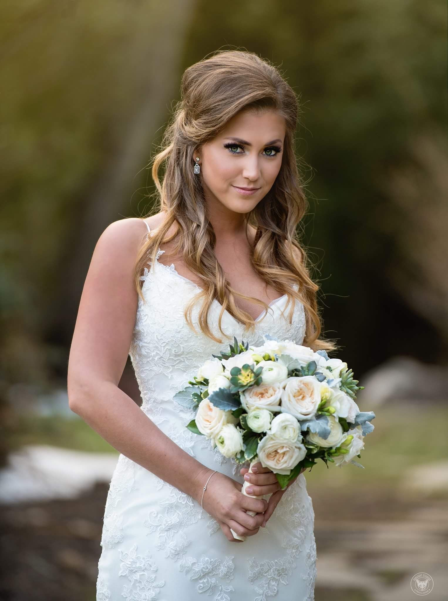 Bridal hair and makeup by www.thehouseofmakeup.com