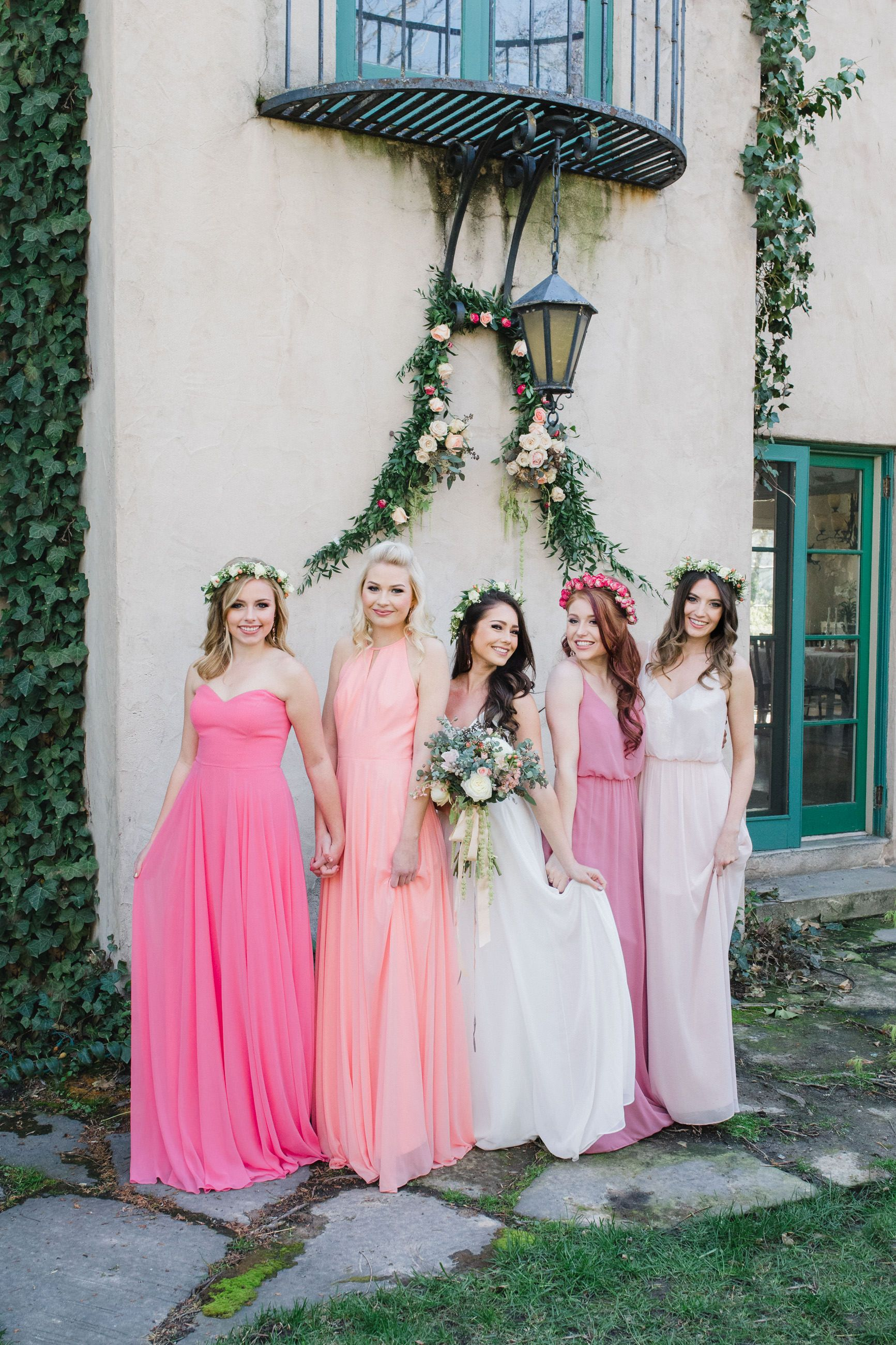 Bridesmaid dress ideas @dessygroup | Everything Wedding | Pinterest