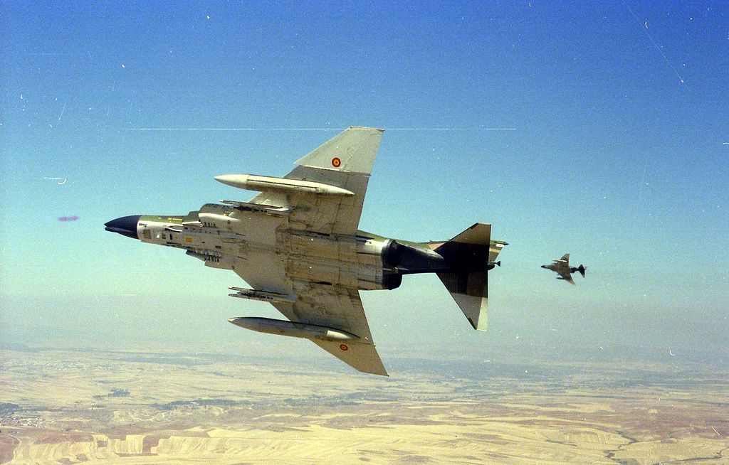 F-4B PHAMTON II. ALA 12 Ejército del Aire Español