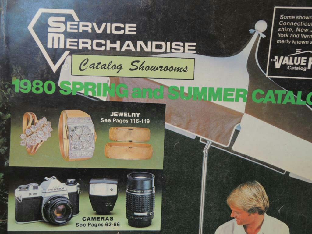 Service Merchandise Catalog Showroom Spring and Summer