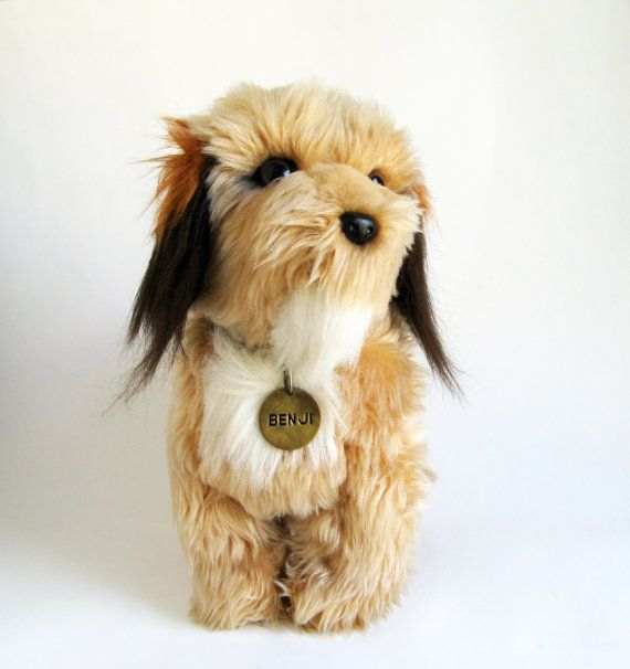 Vintage Benji Pet Dog By Dakin Dog Stuffed Animal 1978 Terrier Dog