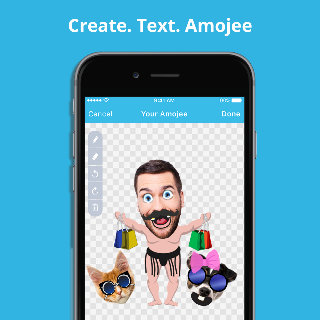 Create And Text Your Own Emoji Share With Your Friends