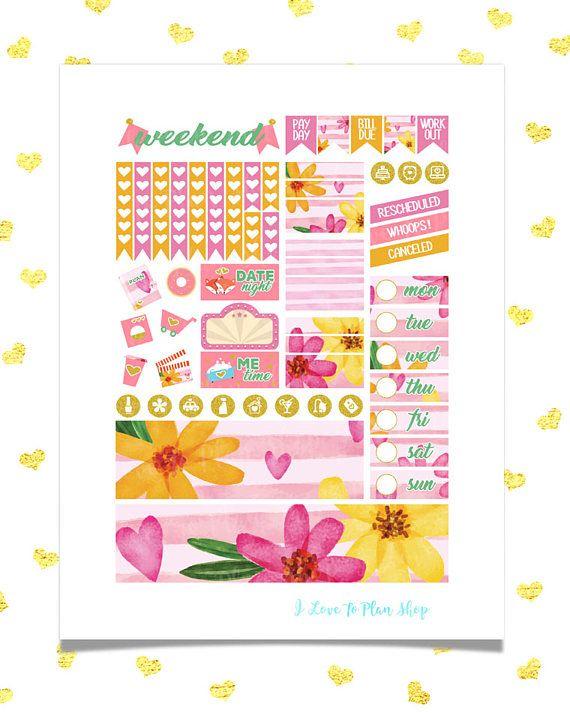 50% OFF SALE/ BEST Mom Sticker Kit/ Printable Planner Stickers