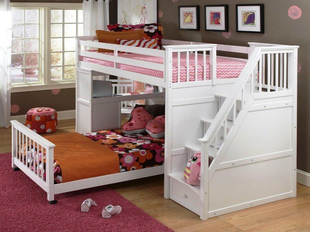 Image Result For Full Over Full Bunk Beds With Stairs Toddler Bunk Beds Kids Bunk Beds Bunk Beds With Stairs