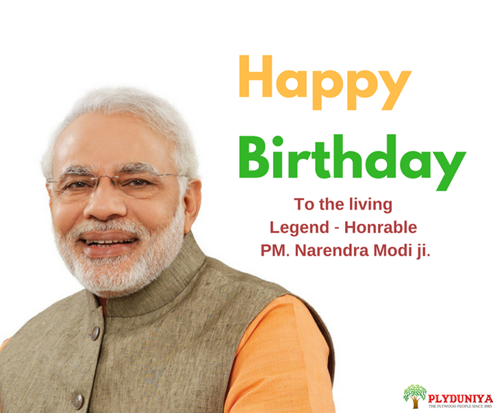 Happy birthday to our Honorable PM. Narendra Modi Ji. Our