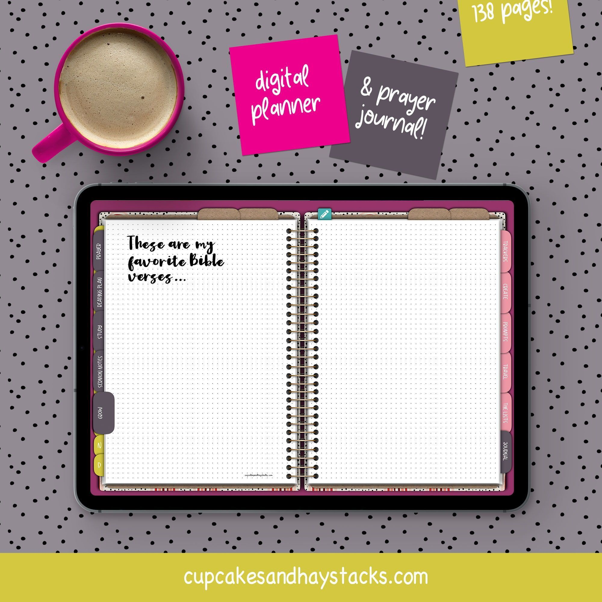 Digital Planner Digital Bullet Journal iPad Planner | Etsy
