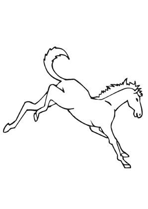 Ausmalbild Pferd Auf Dem Bauernhof Ausmalbilder Pferde Ausmalen Ausmalbilder Tiere