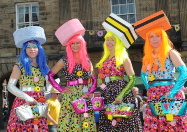 The Liquorice Allsorts Ladies Süßigkeiten kostüme