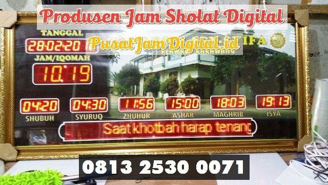 Jam Shalat 5 Waktu Di Serdang Bedagai Wa 0813 2530 0071 Produksi
