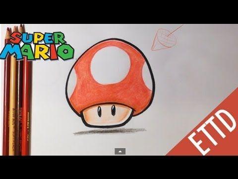 How To Draw Super Mario Bros Mushroom Easy Things To Draw Met