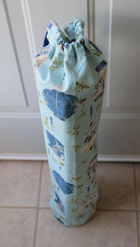 On Sale Blue Lantern Yoga Bag with Two Straps by TheCraftyTengu, $17.00