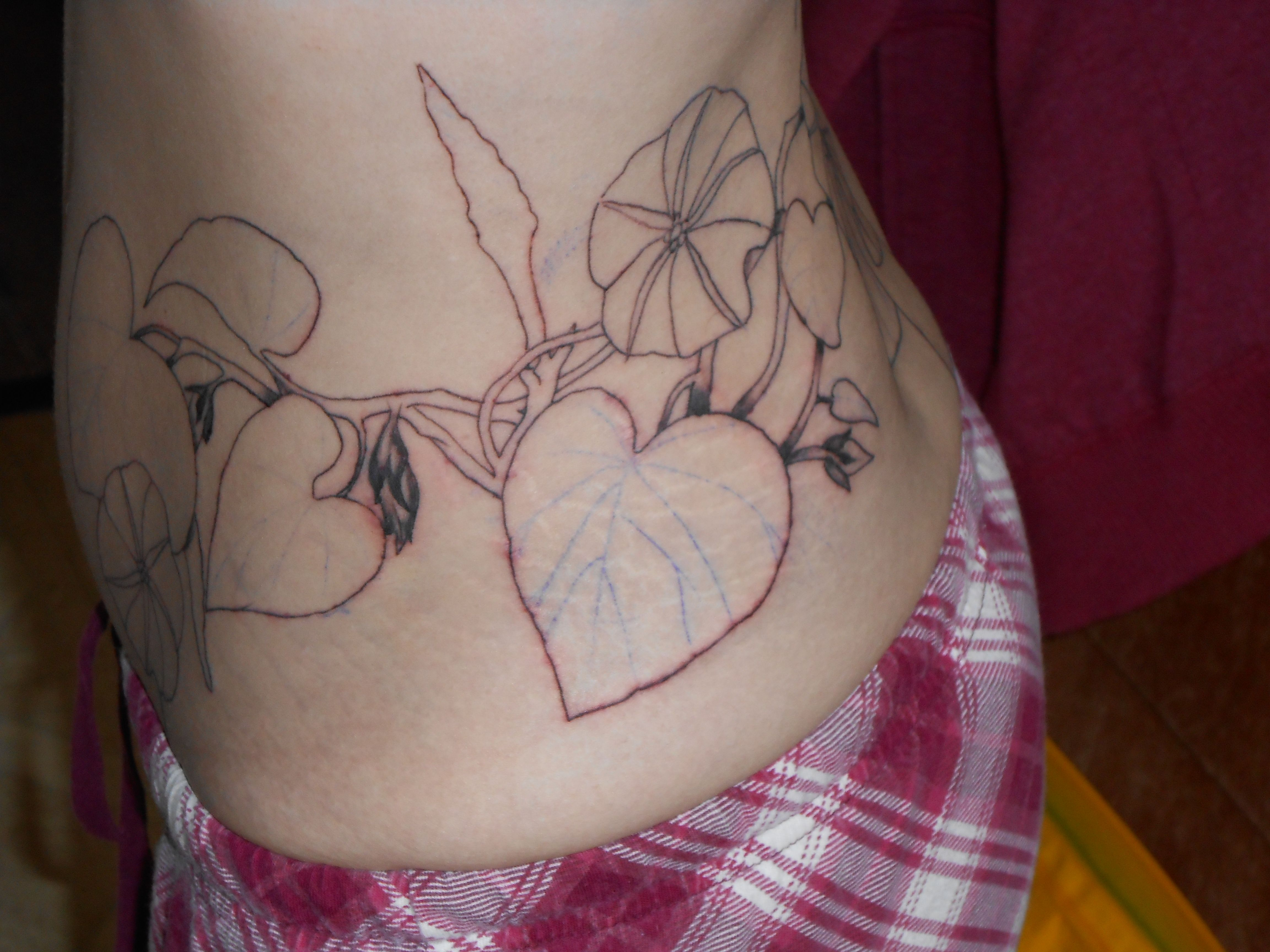 I guess it's a lower back, side, hip, inner pelvis tattoo