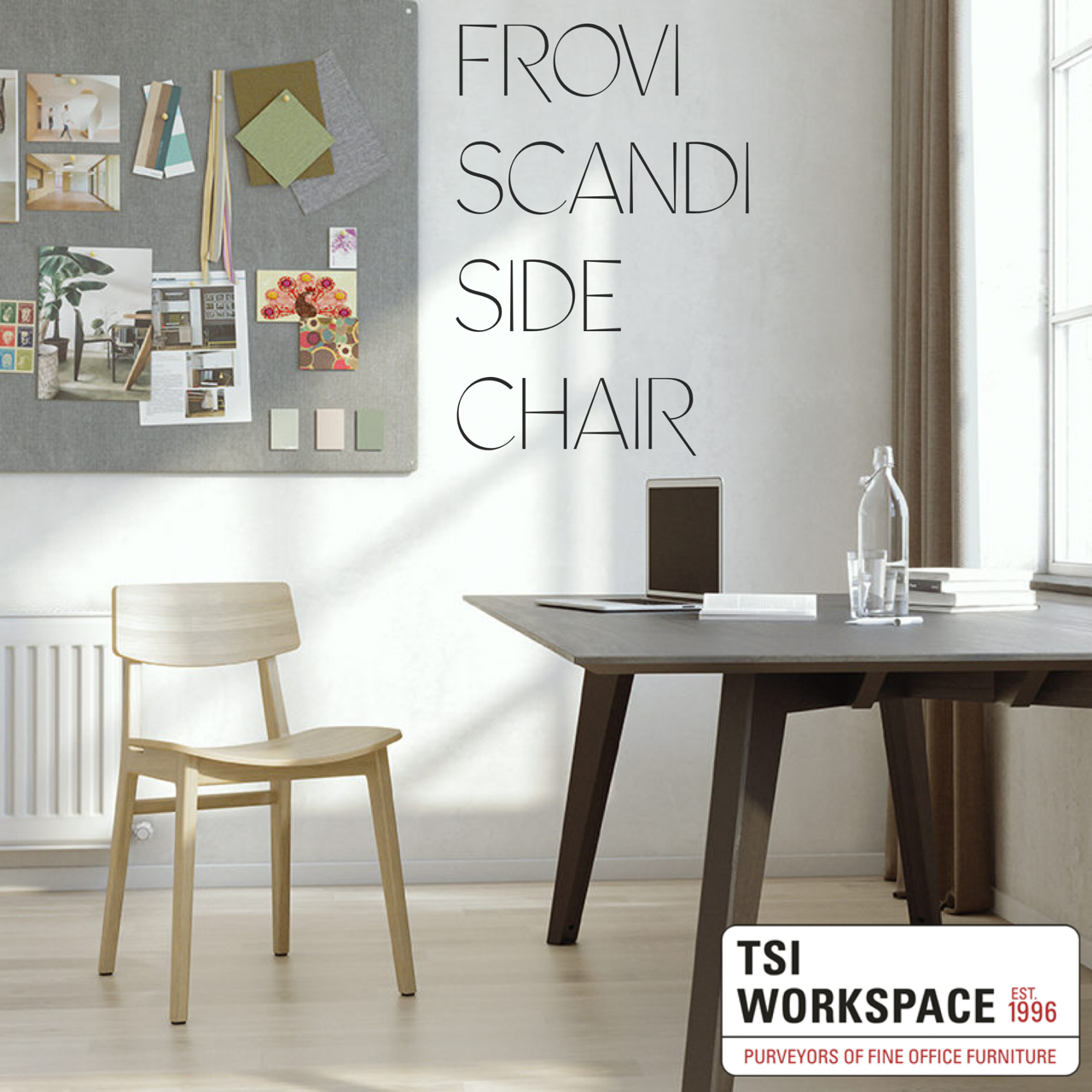 Frovi Scandi Side Chair from TSI Workspace https