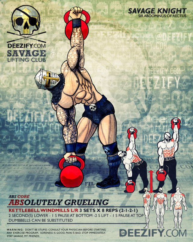 Exercise Kettlebell Overhead Windmill Modified: WOD: June Workout Highlights