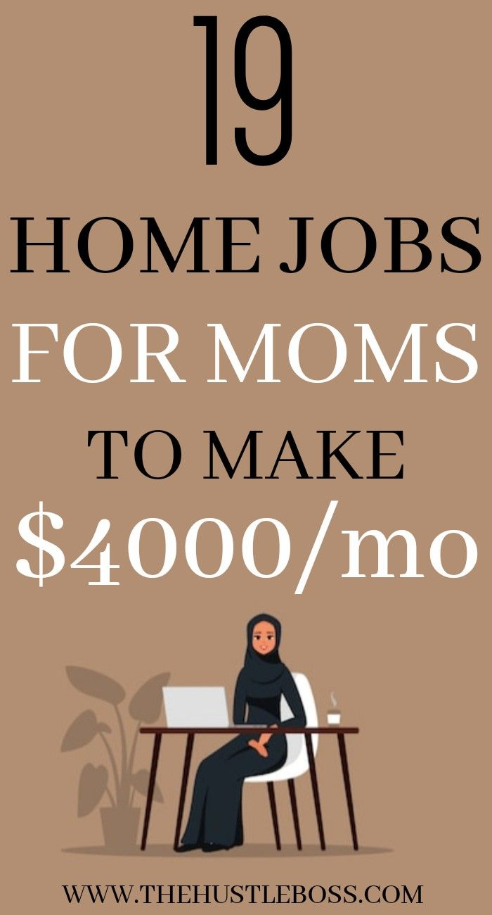 Easy work at home jobs for moms and home staying w