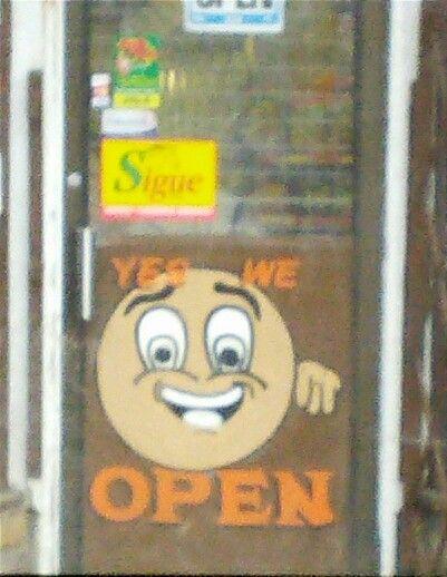 """Lmbo """"yes we open """""""