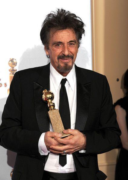 Al Pacino: Golden globe award 2004 and 2011..   Al pacino, Celebrities  male, Actors