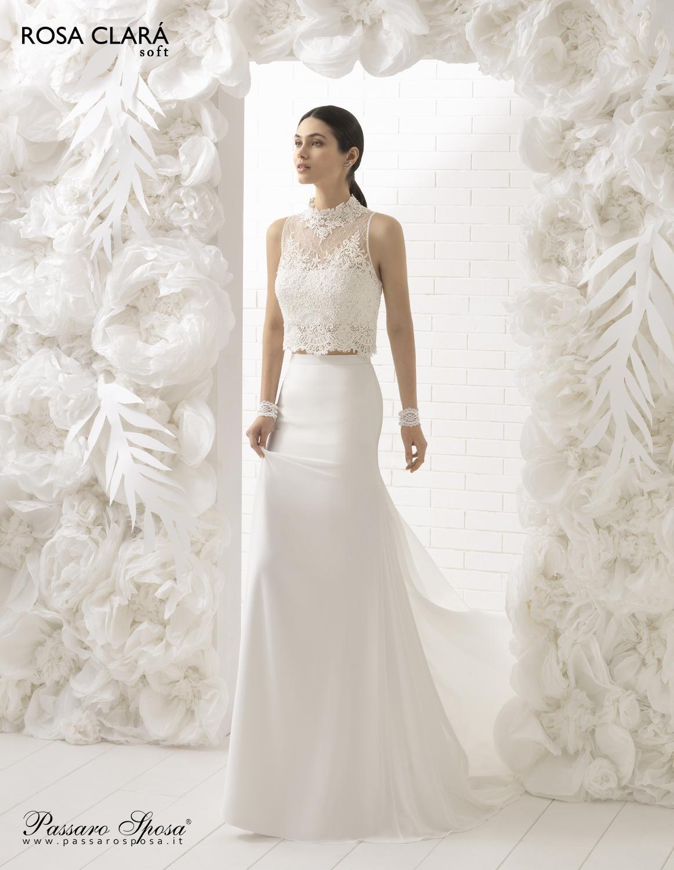 Per le spose del 2016 arriva la nuova collezione firmata Rosa Clará. Gli abiti  da 8af460d92c7
