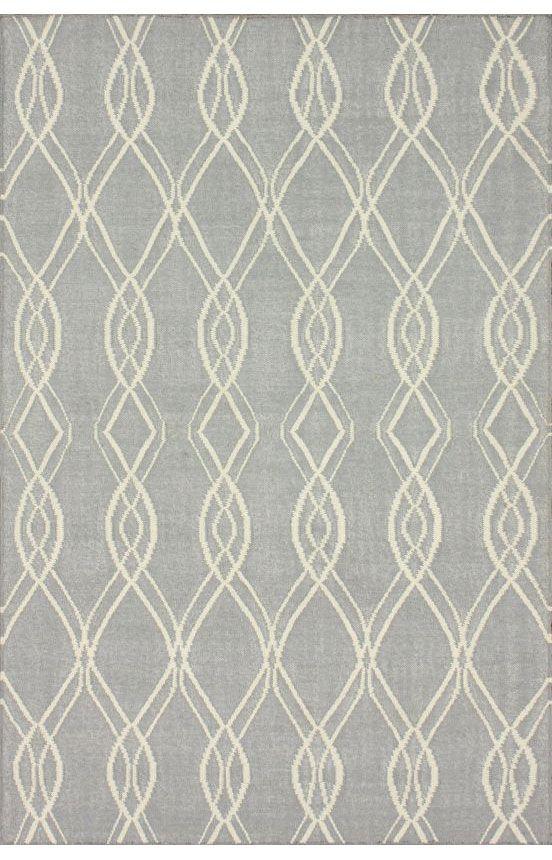 Rugs Usa Tuscan Modern Kilim Flatwoven Grey Rug