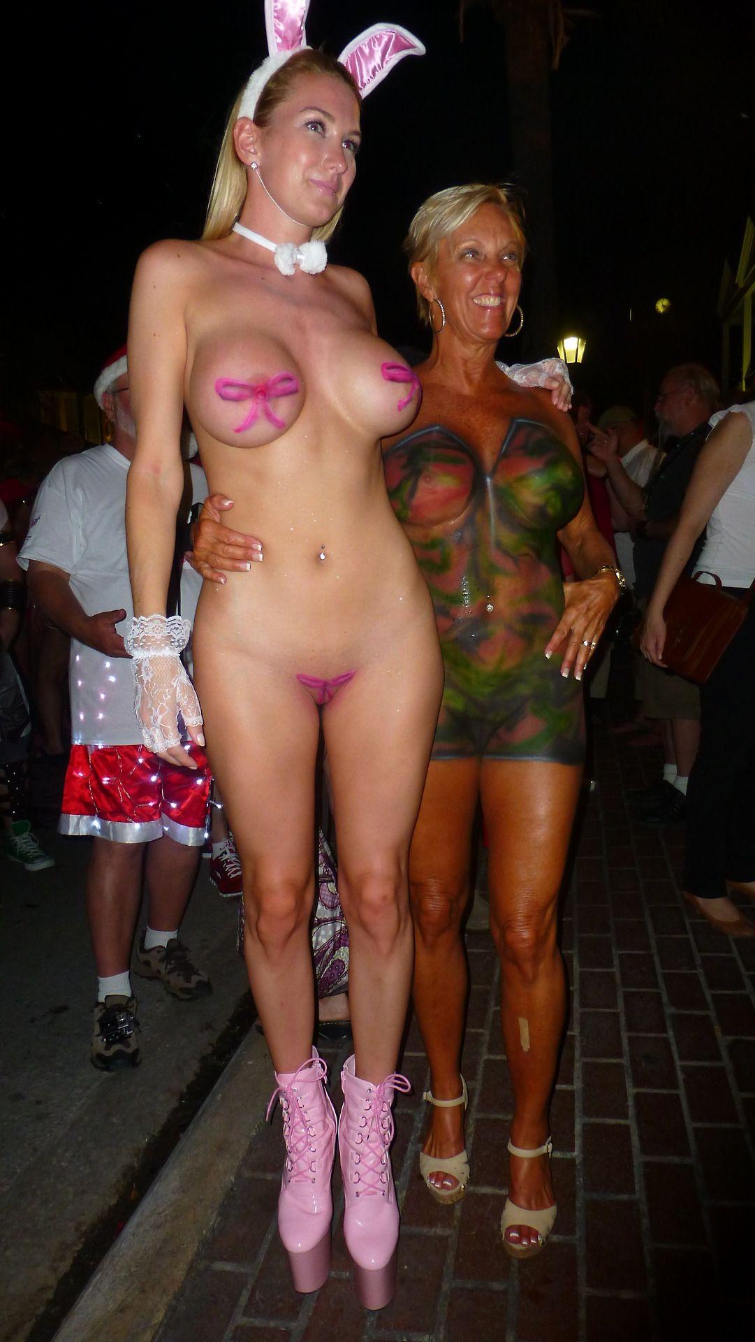 Body paint festival key west part 2 - 4 8