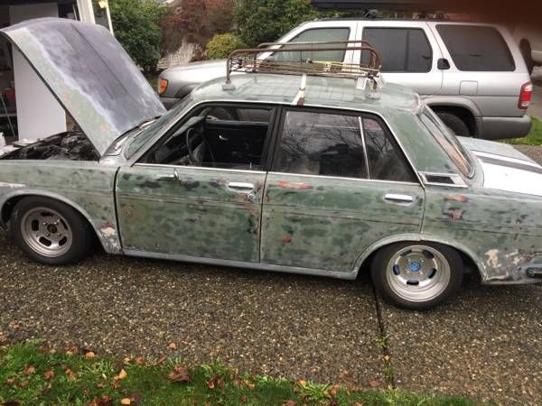 1970 Four Door Seattle Wa Volkswagen 1600 Datsun 510 Datsun