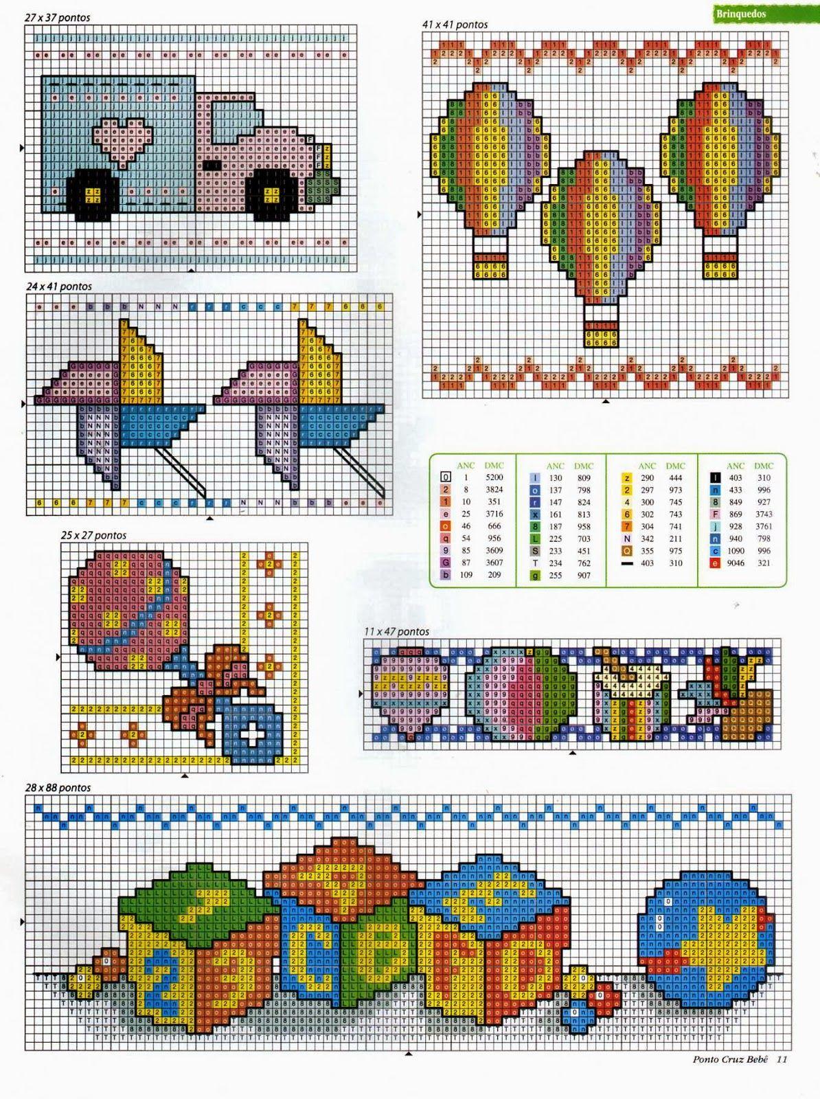 Punto de Cruz para bebes   Children Cross Stitch   Pinterest   Cross ...