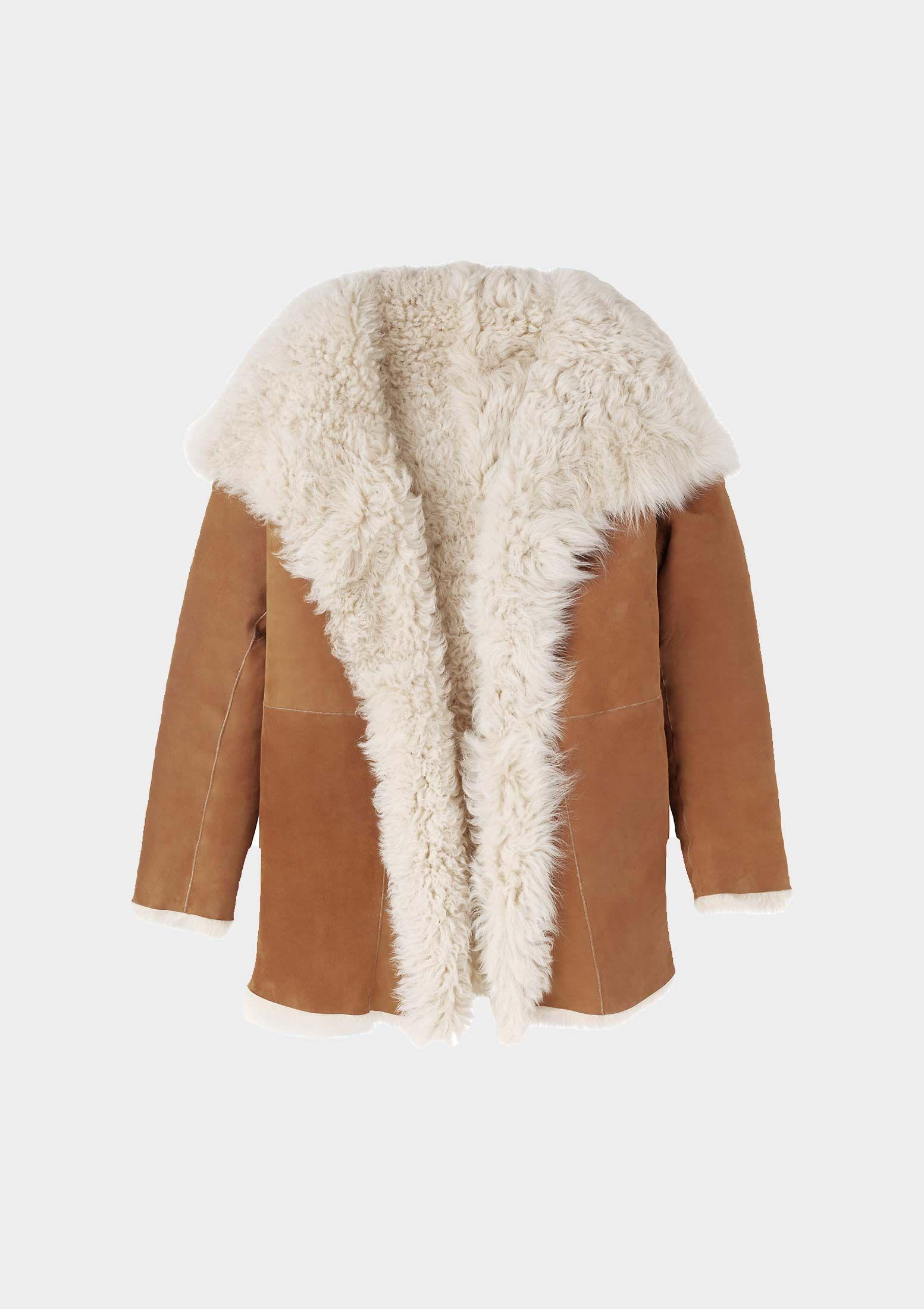SHEARLING WRAP COAT TOAST Coat, Clothes, Lounge wear