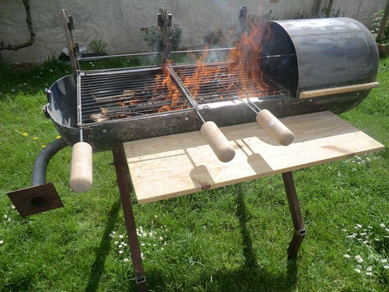 barbecue asociatif bricolage do it yourself pinterest barbecue et tonneau. Black Bedroom Furniture Sets. Home Design Ideas