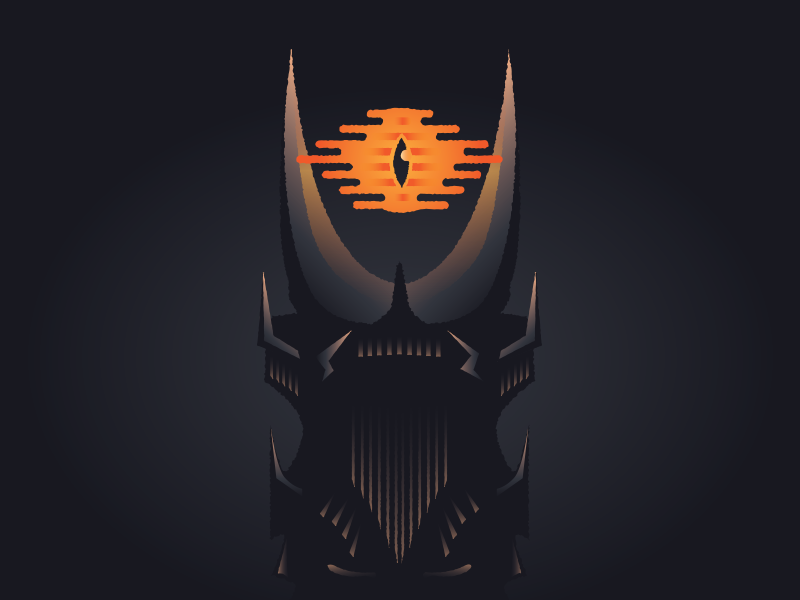 Sauron Lord Of Mordor Mordor Lord Art