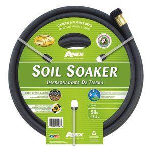 Teknor 1 2 In Soil Soaker Garden Hose 50 Ft Walmartgreen Soaker Hose Soaker Soil