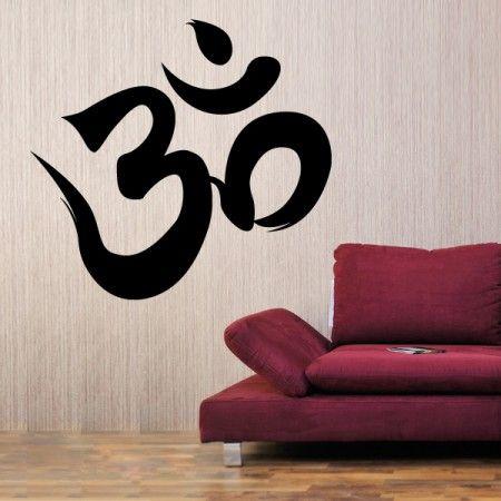 In Der Ruhe Liegt Die Kraft Ohm Symbol Wadeco Als Wandtattoo