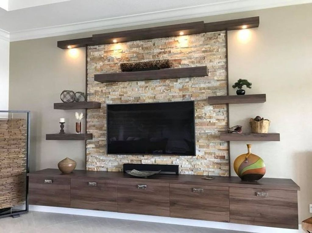 40 Cozy Entertainment Centers Design Ideas You Must Try Living